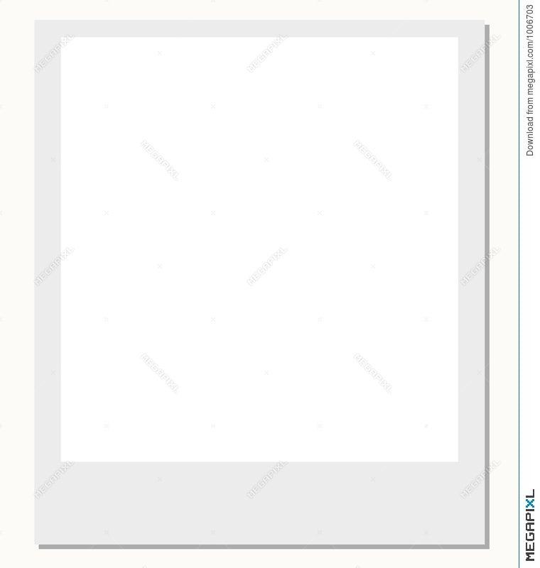 Polaroid Film Frame Illustration 1006703 - Megapixl