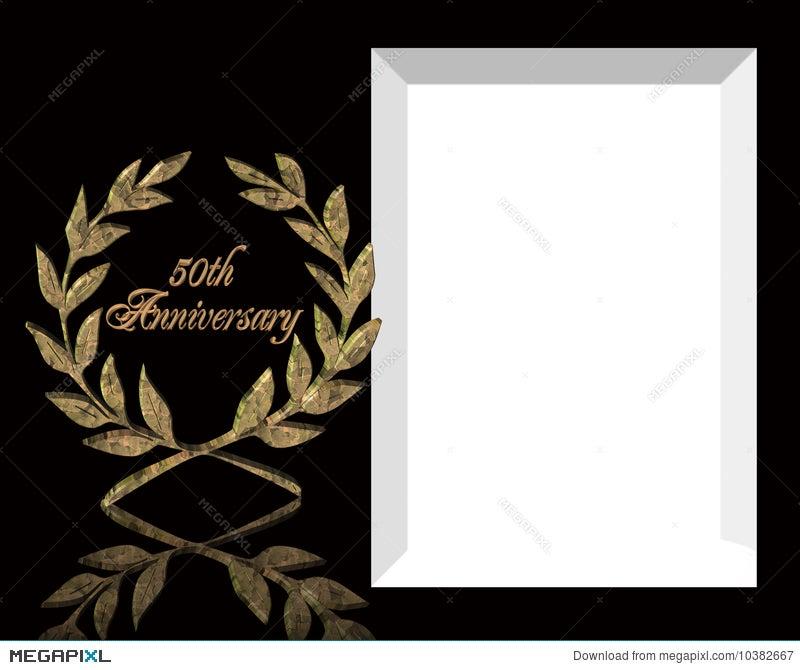 50th wedding anniversary invitation illustration 10382667 megapixl 50th wedding anniversary invitation stopboris Gallery