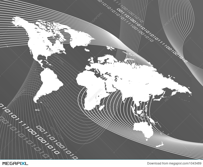 Grayscale world map illustration 1043489 megapixl grayscale world map gumiabroncs Gallery