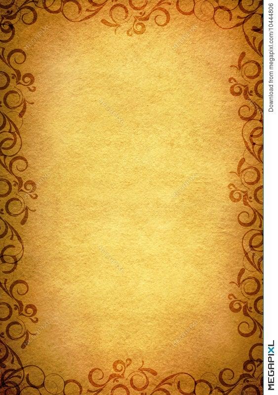 old paper border design illustration 10444806 megapixl