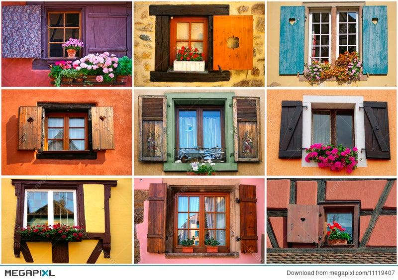 Windows Collage Stock Photo 11119407 - Megapixl