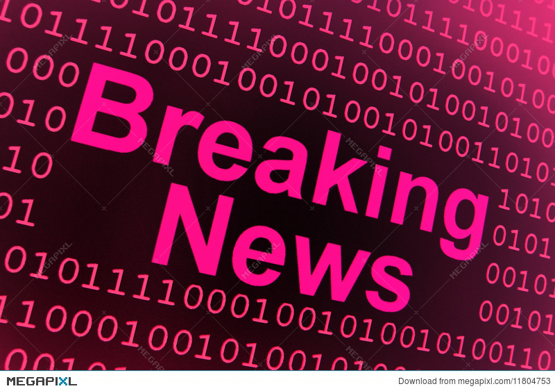 Breaking News Background Illustration 11804753 - Megapixl