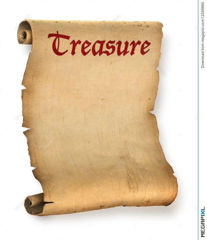 Treasure Map Stock Photo 12349860