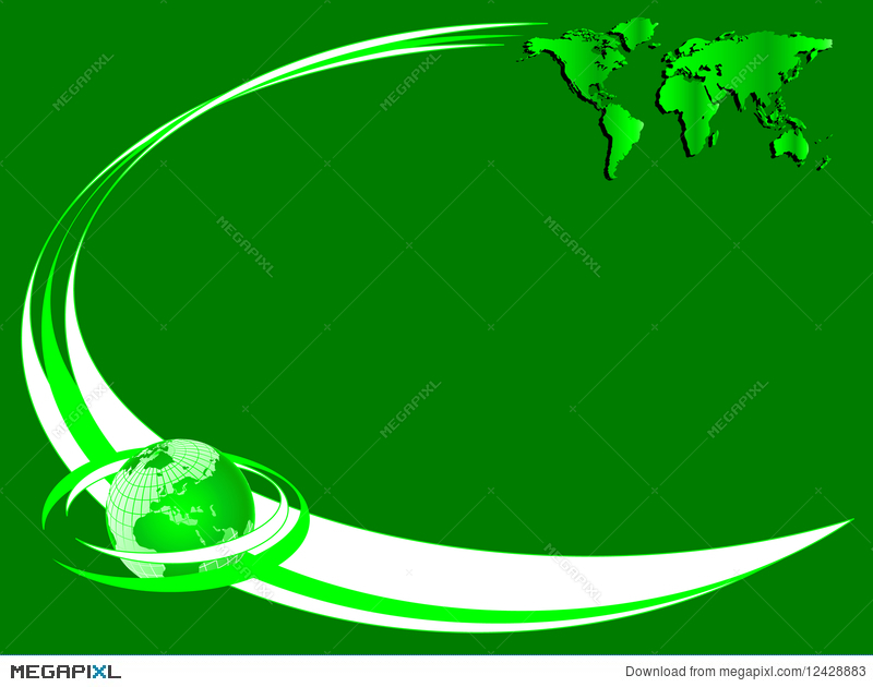 A green environmental business card illustration 12428883 megapixl a green environmental business card colourmoves Images