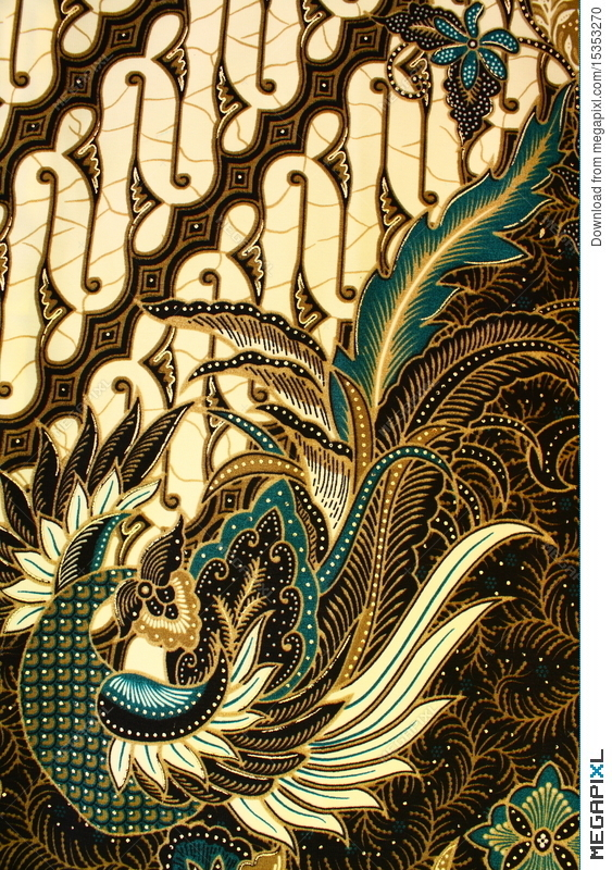 Batik Pattern Indonesia Stock Photo 60 Megapixl Awesome Batik Pattern