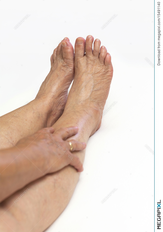 Mature foot pictures