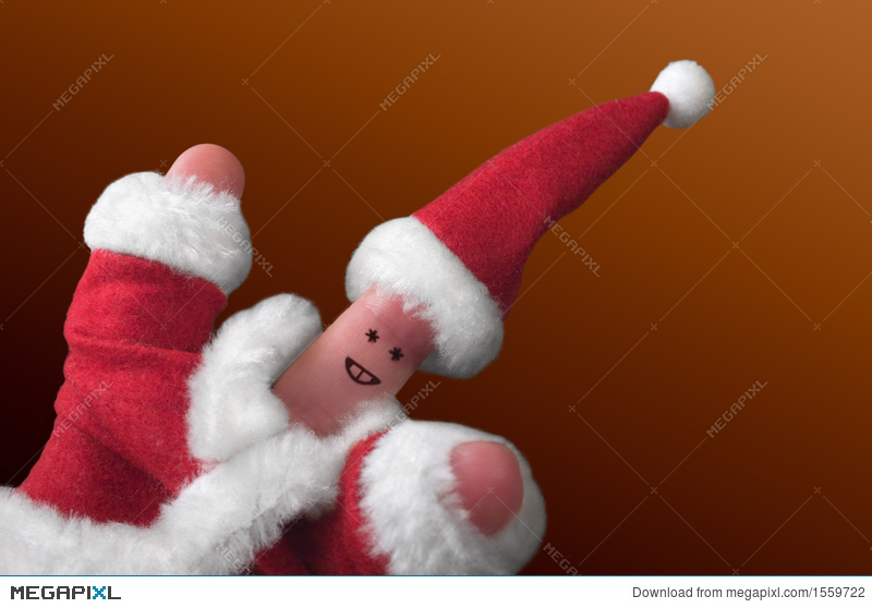 Christmas Fingers Show-2 Stock Photo 1559722 - Megapixl