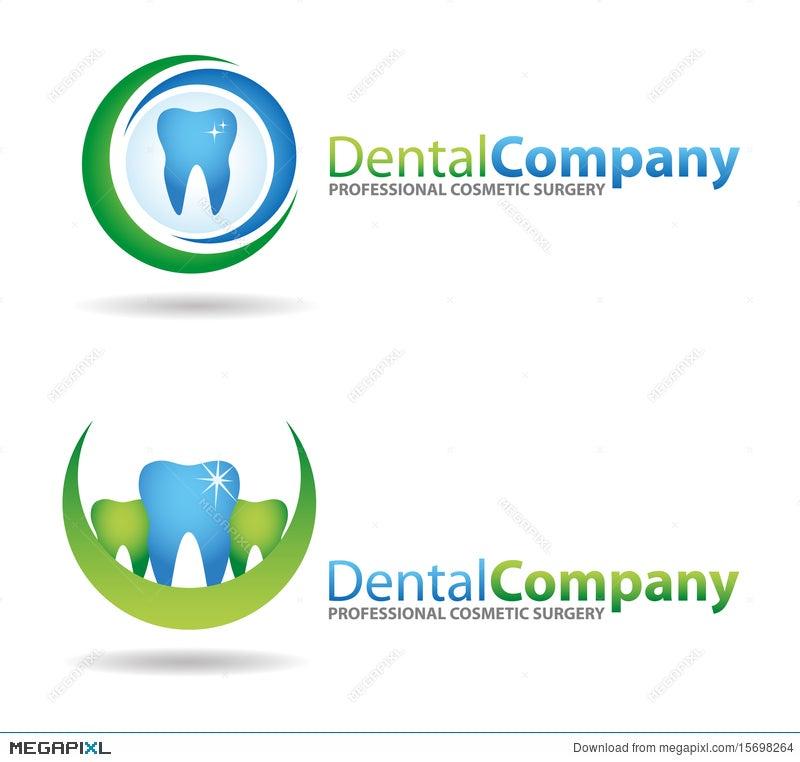 dental logos illustration 15698264 megapixl