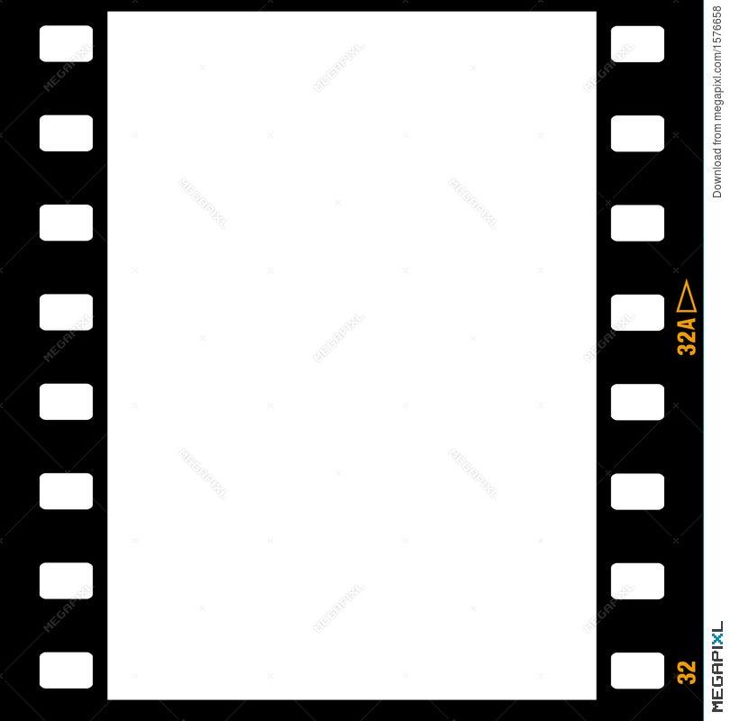 35Mm Film Strip Frame Frames Illustration 1576658 - Megapixl