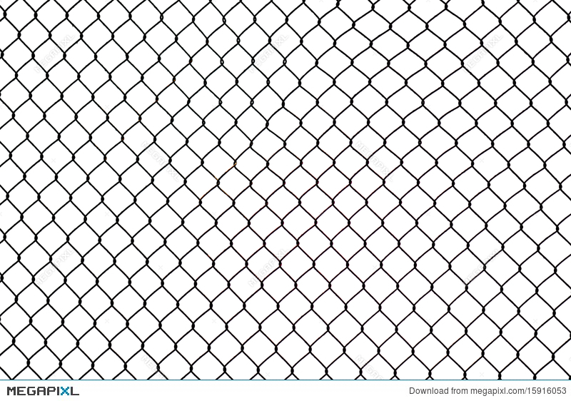 Broken Iron Wire Fence Stock Photo 15916053 - Megapixl
