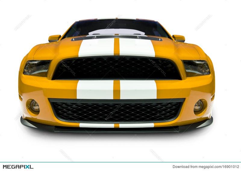Sports Car Front View Stock Photo 16901012 Megapixl