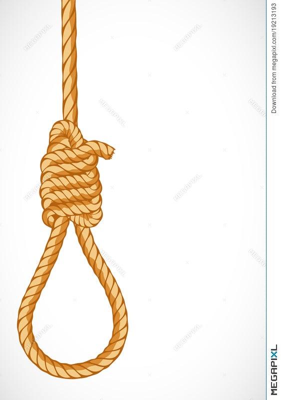 Hanging Noose Illustration 19213193 Megapixl