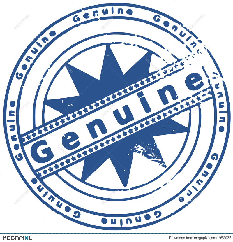 grunge round rubber ink stamp genuine illustration 1952035 megapixl