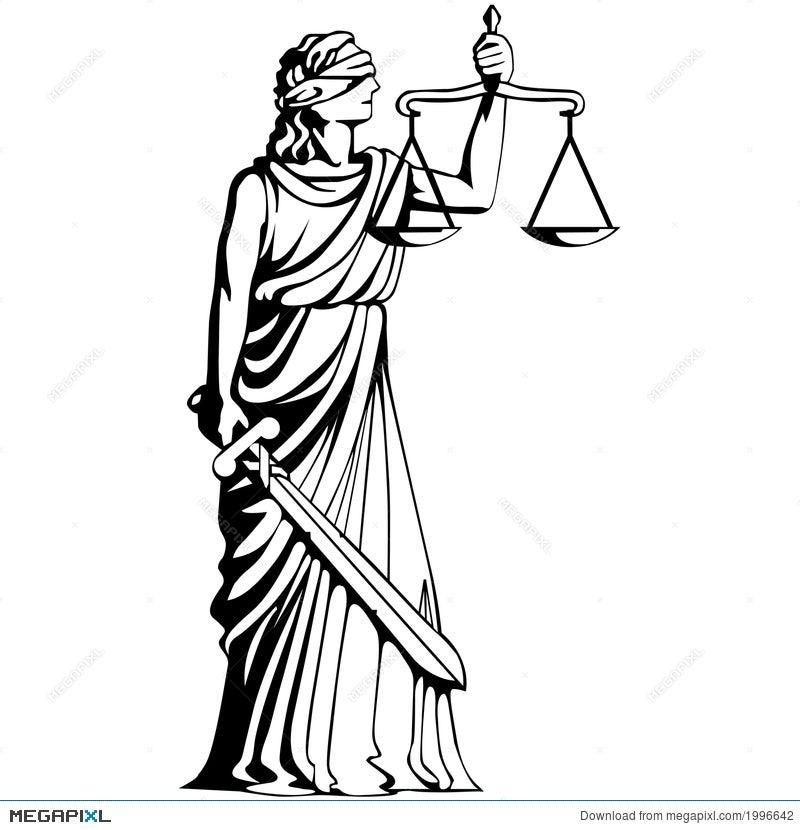Symbol Of Judgement Illustration 1996642 Megapixl