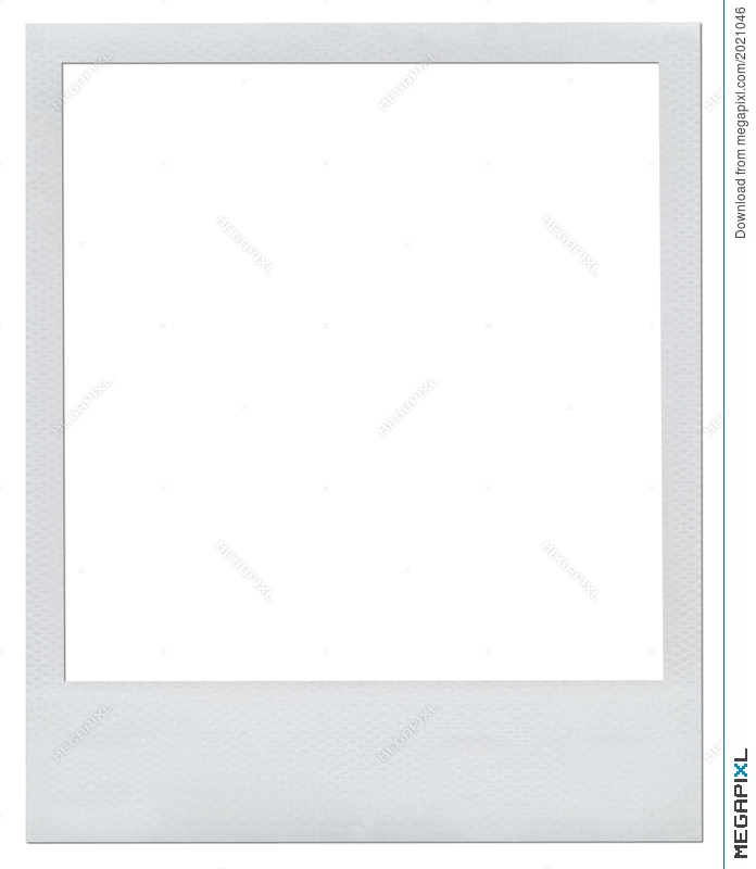 Blank Polaroid Frame Illustration 2021046 - Megapixl