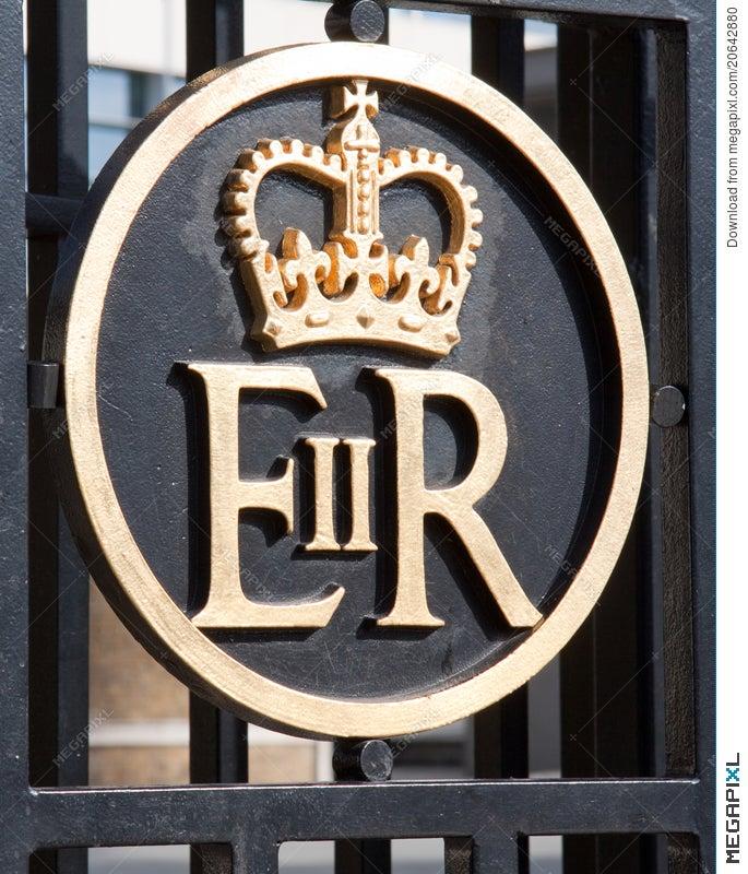 Symbol Of Queen Elizabeth Stock Photo 20642880 Megapixl