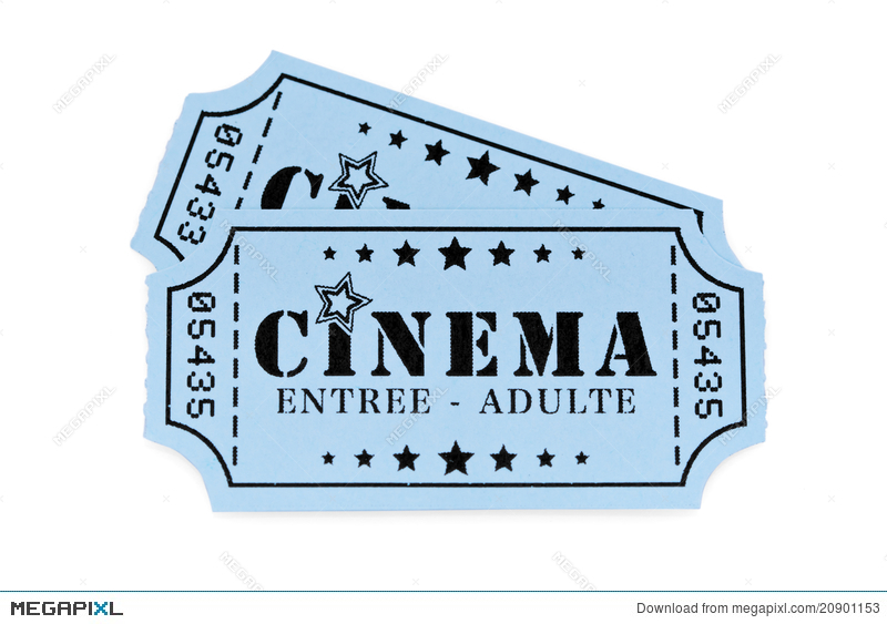 French Cinema Tickets Stock Photo 20901153