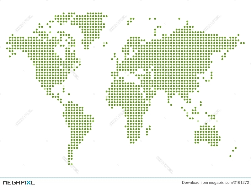 World map dotted illustration 2161272 megapixl royalty free gumiabroncs Choice Image