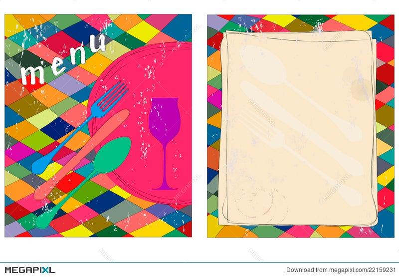 Blank Menu Card Illustration 22159231