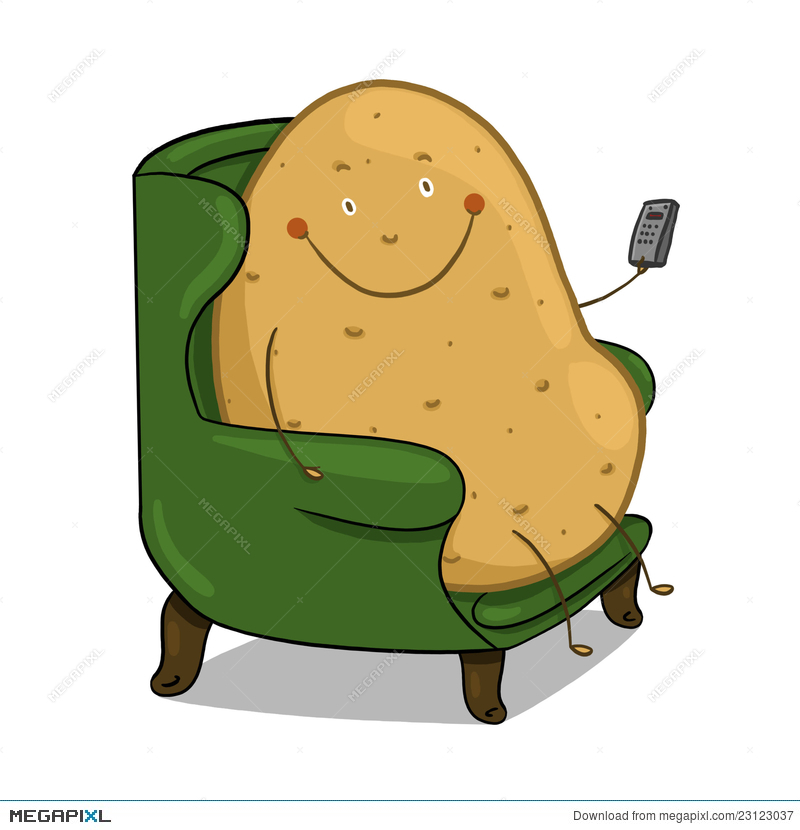 Couch Potato illustration