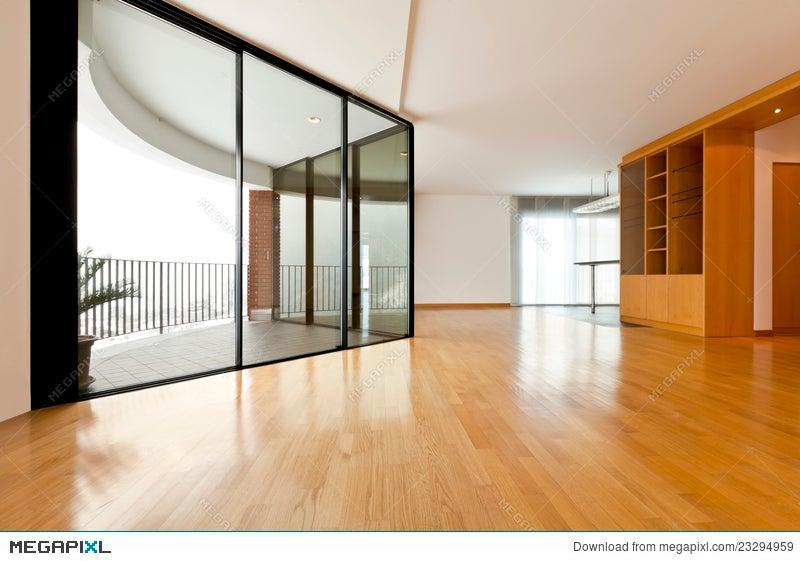 Big Room With Window Stock Photo 23294959 - Megapixl
