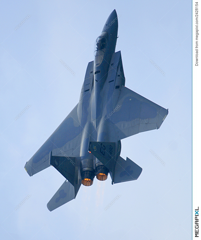 F15 Eagle Jet Afterburner Stock Photo 2428154 Megapixl