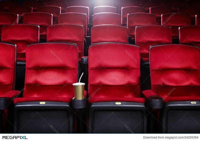Empty Movie Theater Stock Photo 24255384 Megapixl
