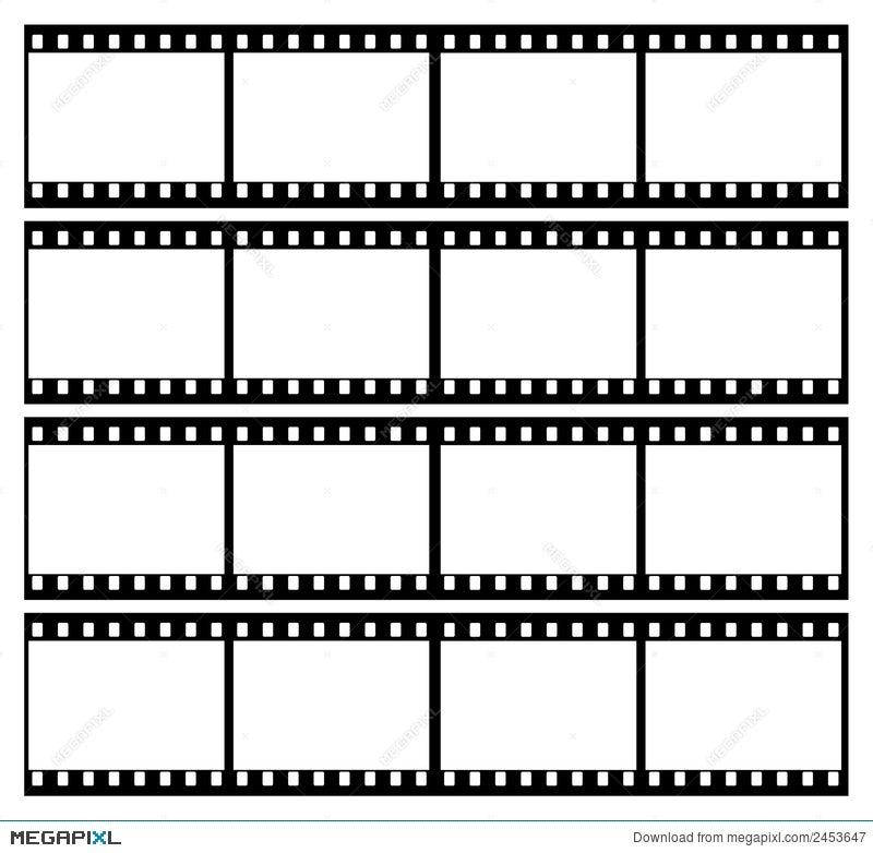 Film Strip Frames Frame Illustration 2453647 - Megapixl