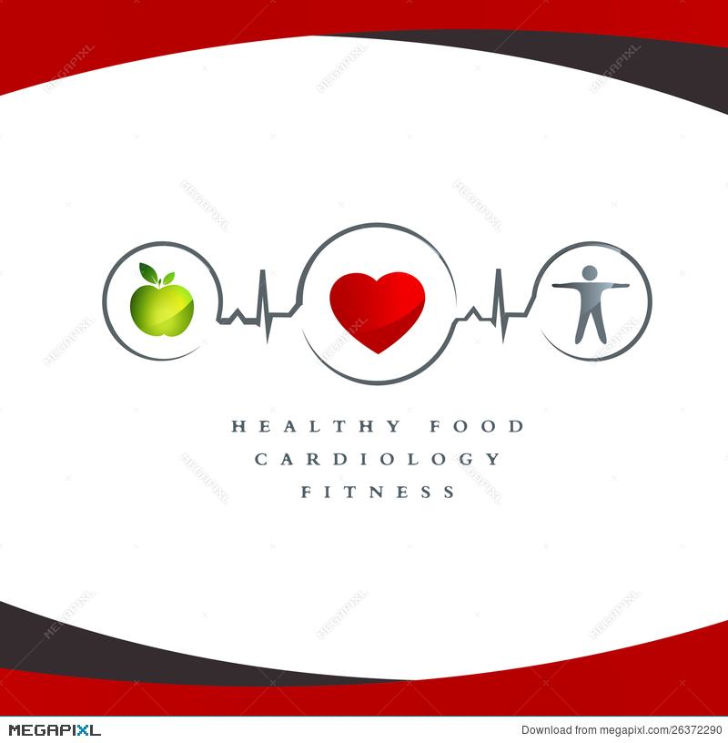 Healthy Heart Symbol Illustration 26372290 Megapixl