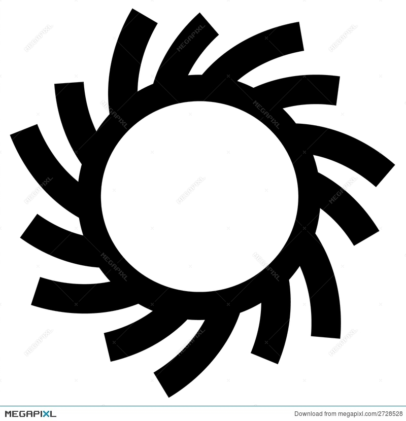 sun circle or ring symbols illustration 2728528 megapixl rh megapixl com Vector Flourish Circle Circle Swirl Border
