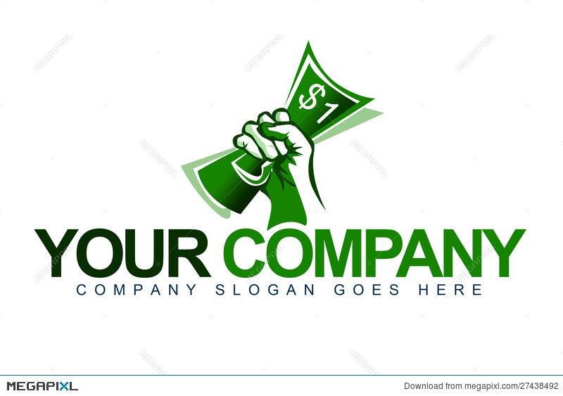 Hand Money Logo Illustration 27438492 Megapixl