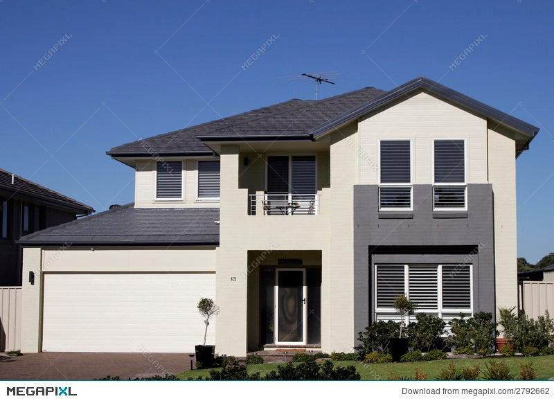 modern suburban house stock photo 2792662 megapixl