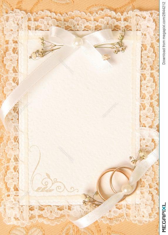 Wedding invitation card stock photo 2844212 megapixl wedding invitation card stopboris Image collections