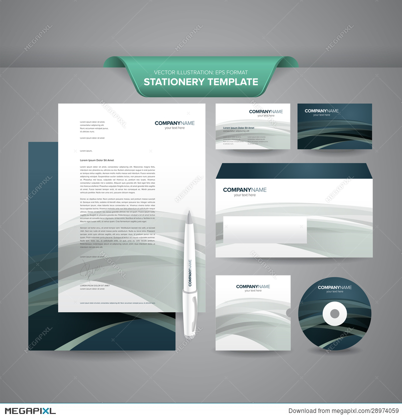 business stationery template illustration 28974059 megapixl