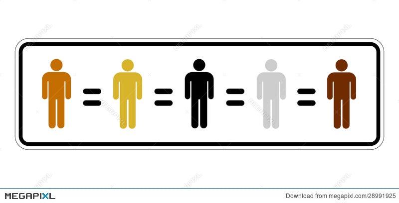 Racial Equality Illustration 28991925 Megapixl