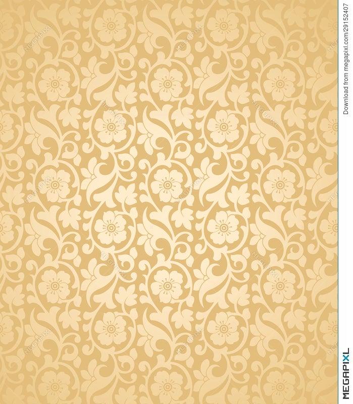 Seamless Wedding Card Background Illustration 29152407