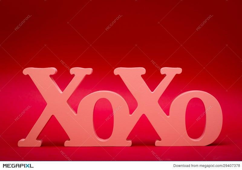 Hugs And Kisses Symbol Stock Photo 29407378 Megapixl