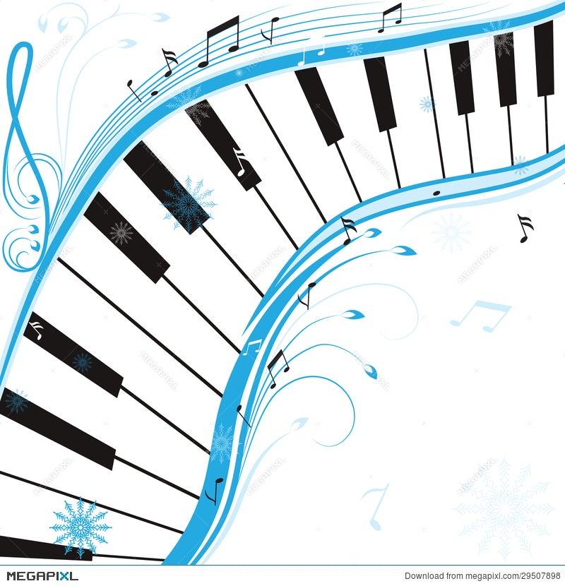 Winter music illustration 29507898 megapixl winter music voltagebd Images