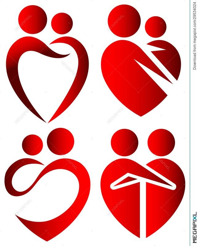 Love Symbols Illustration 29534024 Megapixl