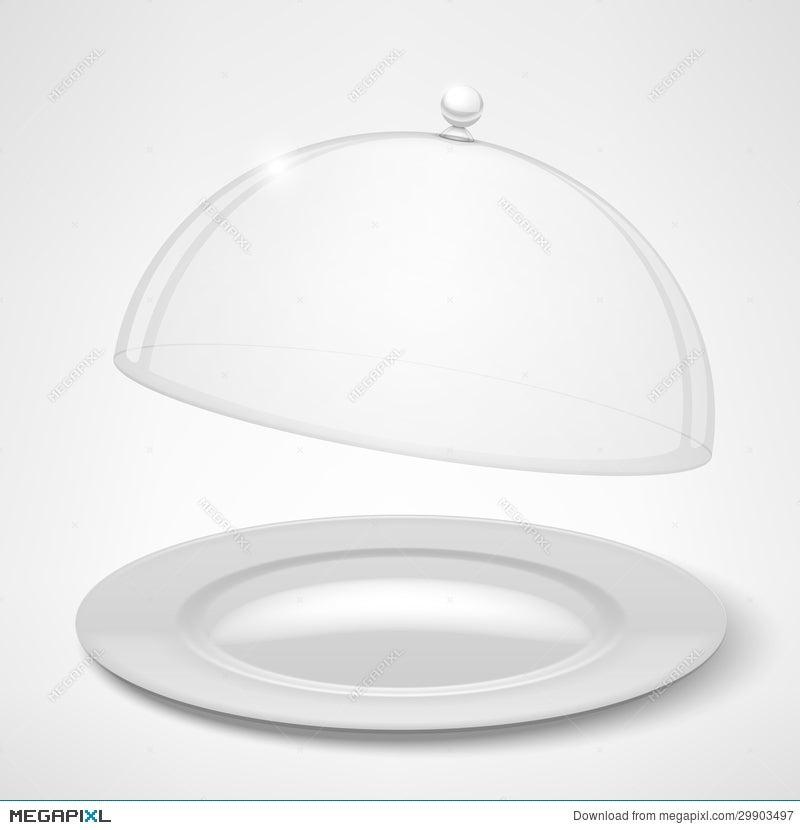 Awe Inspiring Food Tray Restaurant Cloche Illustration 29903497 Megapixl Machost Co Dining Chair Design Ideas Machostcouk