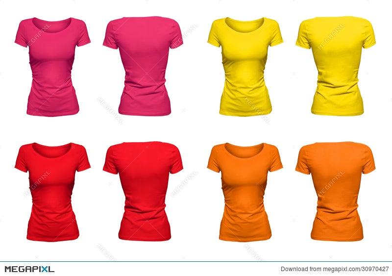 2cb959dad Colorful Sunny T-Shirts Stock Photo 30970427 - Megapixl