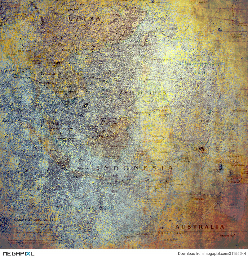 Vintage Map Bohemian Scrapbook Background Paper Stock Photo 31155844