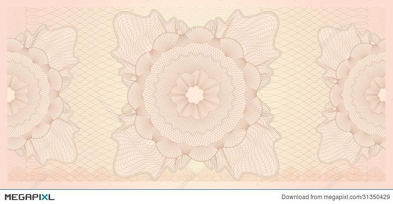 Gift Certificate Voucher Template Pattern Illustration 31350429