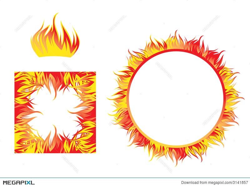 Fire Flame Frames Illustration 3141857 - Megapixl