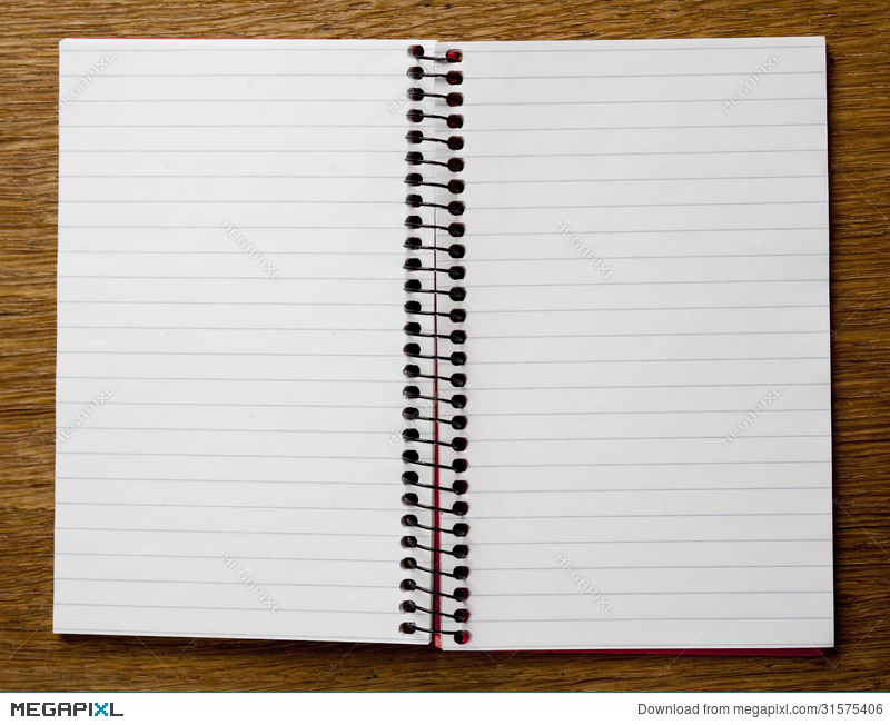 Empty Lined Paper Book  Double Lined Paper