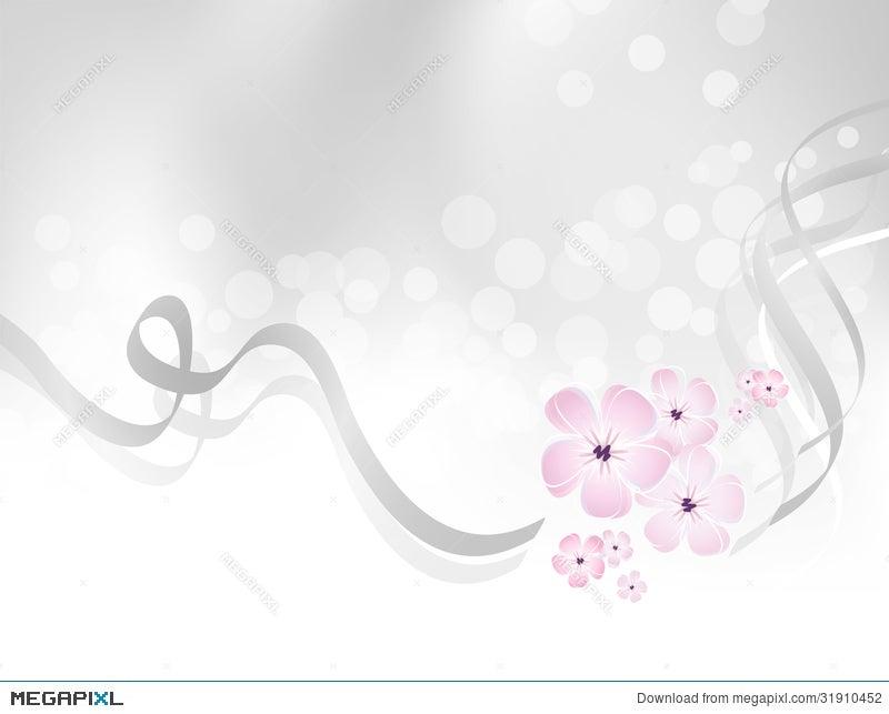 Pink flower design against silver grey background illustration pink flower design against silver grey background mightylinksfo