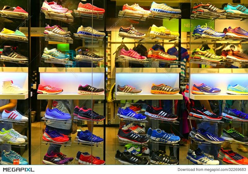 48bdce4f Adidas Sports Shoes Stock Photo 32269683 - Megapixl