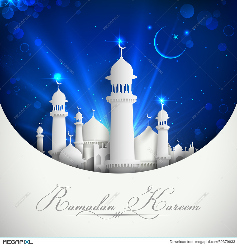 Eid Mubarak Background Illustration 32379933 Megapixl