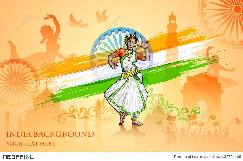 Culture Of India Illustration 32794438 - Megapixl