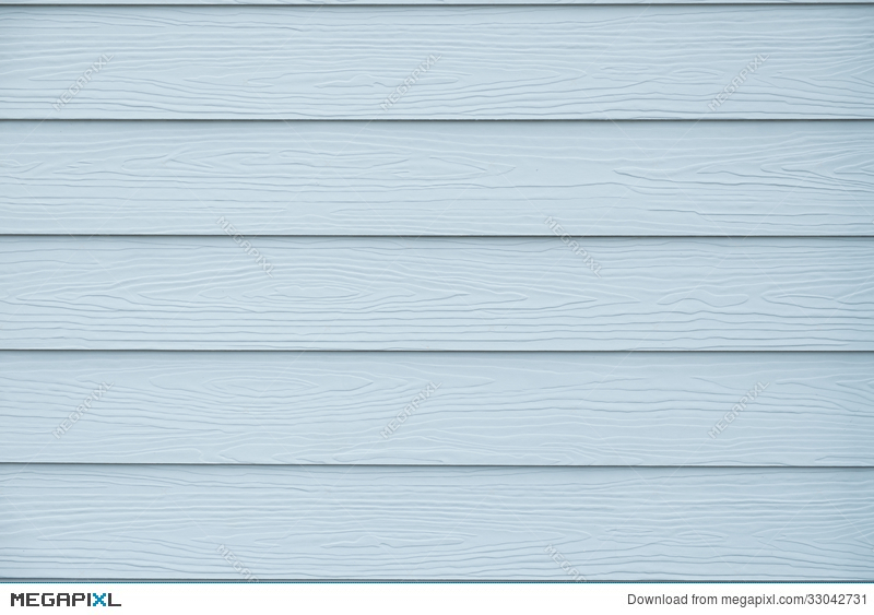 Vintage Blue Wood Texture Background Of House Wall